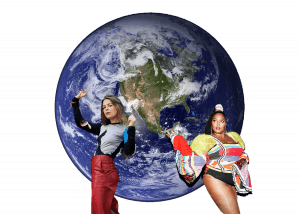 Lizzo, Maggie Rogers Climate Change Graphic