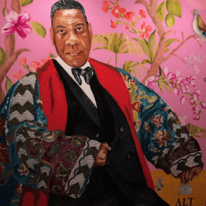 Andre Leon Talley Painting The Graduate Providence