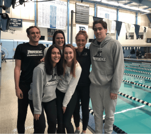 providence college swimming and diving team