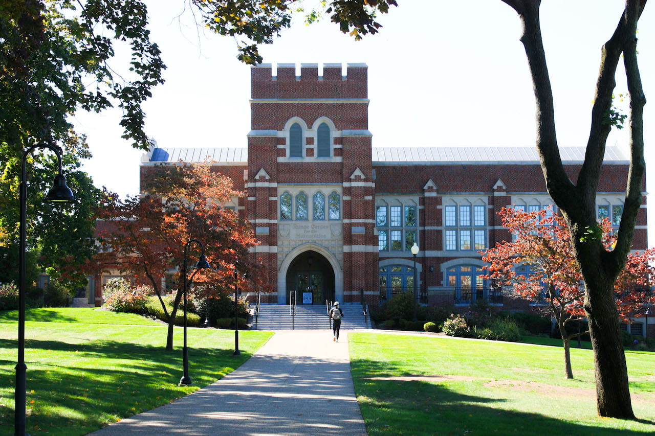 Photo of Ruane in the fall