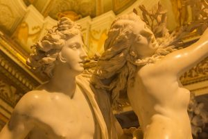 Apollo and Daphne by Bernini (Detail)