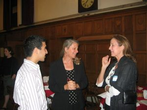 Associates Night 2004, Baker Commons, with College Associate, Suzanne O'Malley, screenwriter and journalist