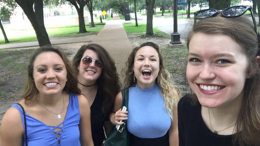 My suitemates and I are vastly different people, with very different majors, doing very different things – but we are constantly supporting and encouraging each other's' endeavors. We are all enjoying our individual college experiences here at Rice.