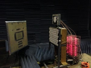 SoftNull Anechoic Chamber Experiment with a Strong Reflector