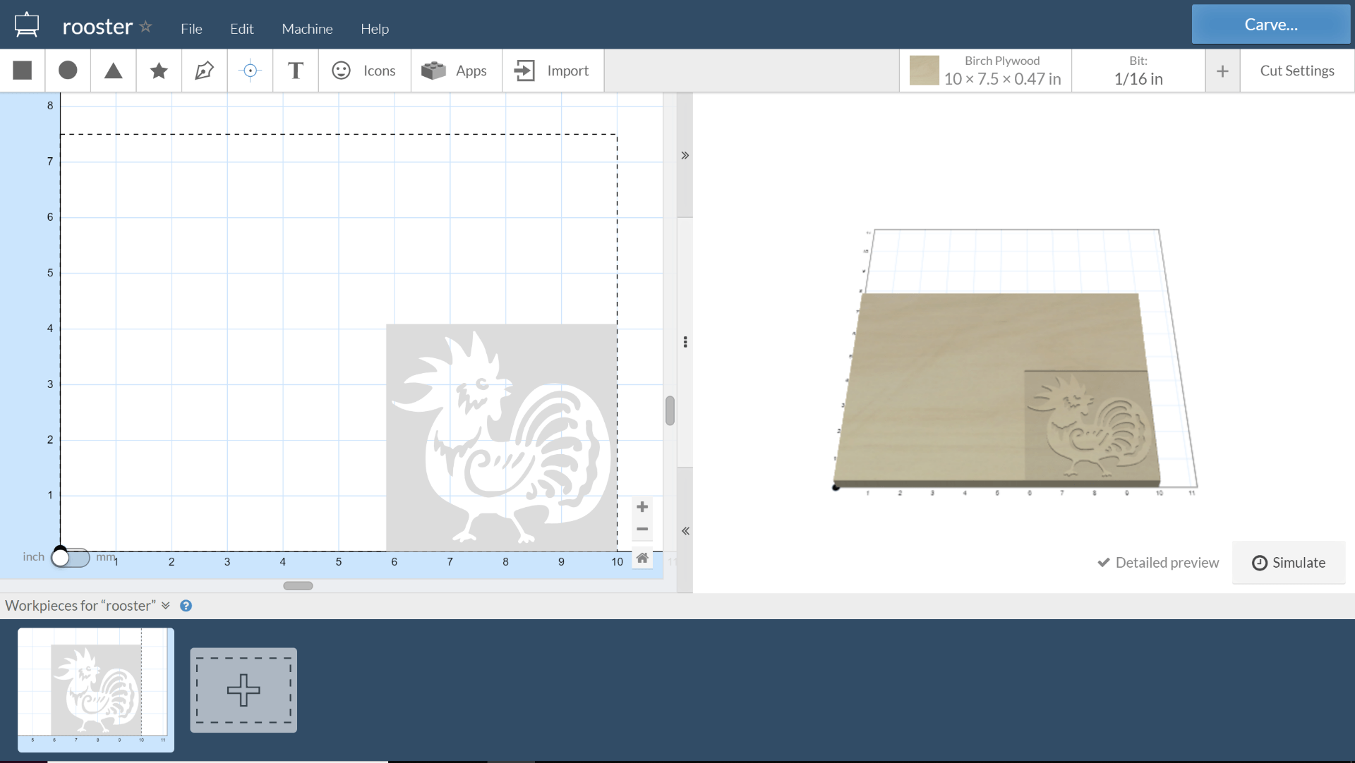 CNC Machine – Rooster Stamp | ENGI 210: Prototyping and