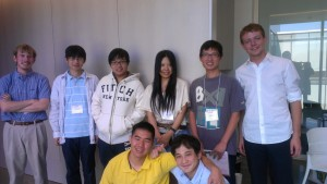 NanoREIS students from Japan with Rice University NanoJapan Alumni
