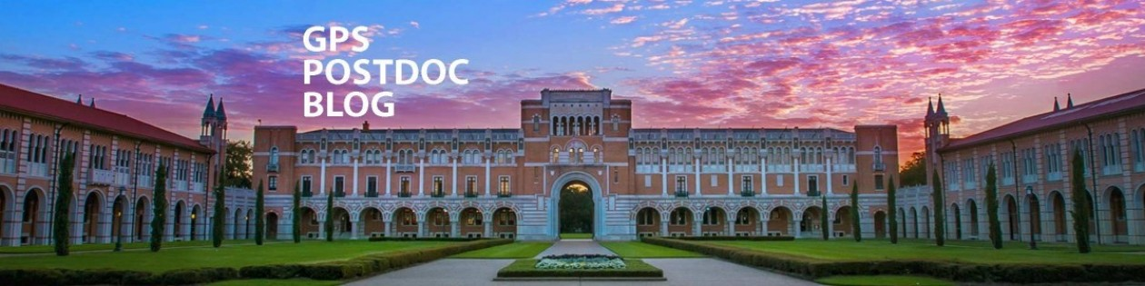 GPS Postdoctoral Fellow Blog