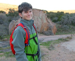 Bryce Willey at Enchanted Rock