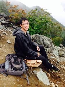 Yanfei Wu Hiking Seattle