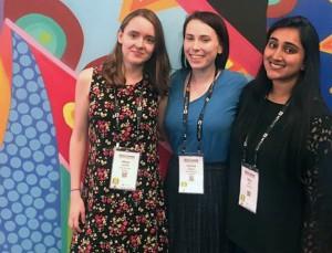 Allison Gardella, Caroline Adams, Maha Aziz