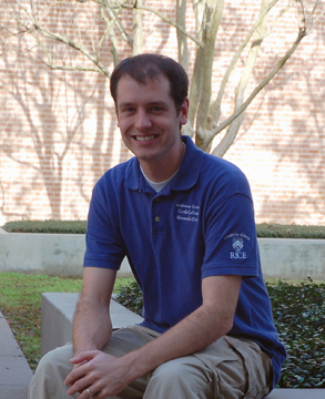 PhD alumnus Nick Vrvilo.