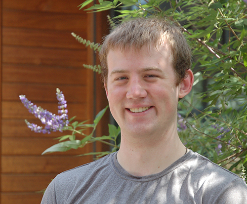 First Year CS PhD student Andrew Wells