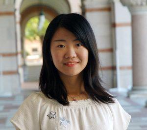 MCS student Eva Li