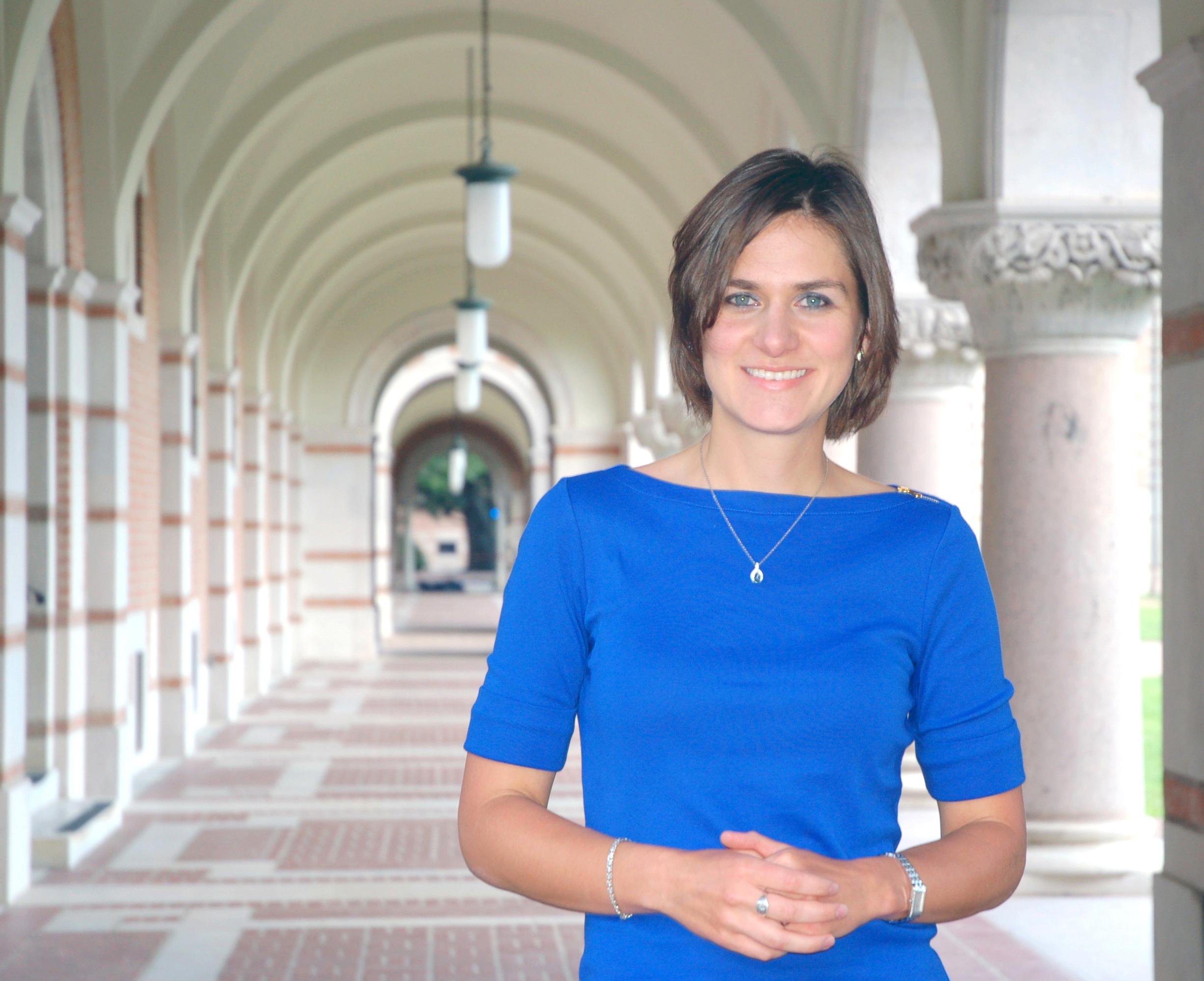 CS PhD alumnae Natalie Berestovsky