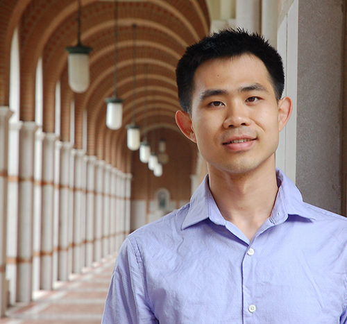 5th year CS Ph.D. student Shangyu Luo