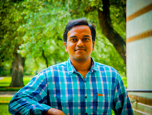 CS PhD student Prasanth Chatarasi