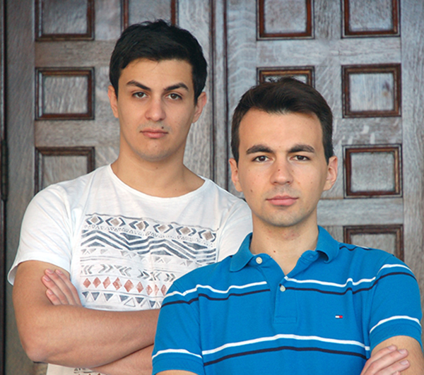 CS Ph.D. students Dimitre Jankov and Srdjan Milakovic