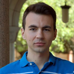 Srdjan Milakovic, CS Ph.D. student
