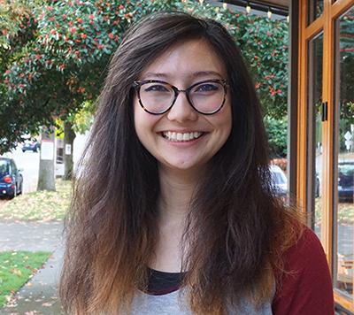 CS alumna Marie Hoeger