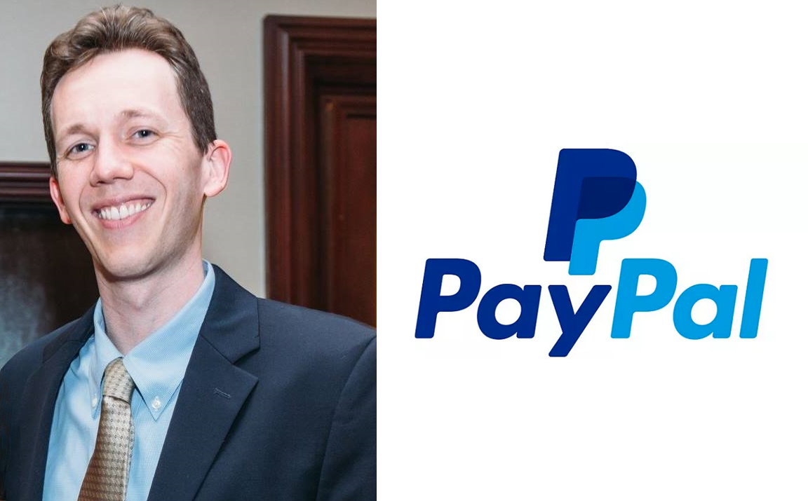 CS alumnus Alex Courtade, senior legal counsel at PayPal