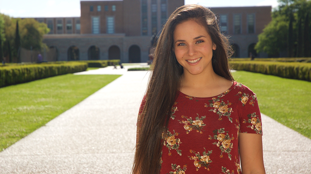 Sophia Jefferson, CS sophomore