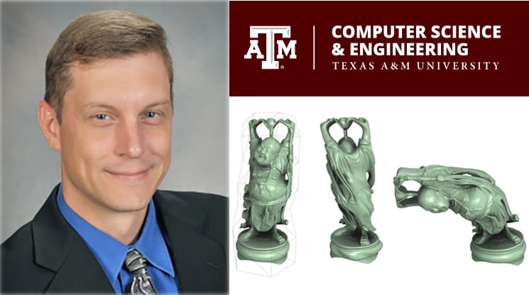 Rice CS Ph.D. alumnus and TAMU CS professor Scott Schaefer.