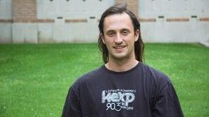 Brian Walker, senior CS student