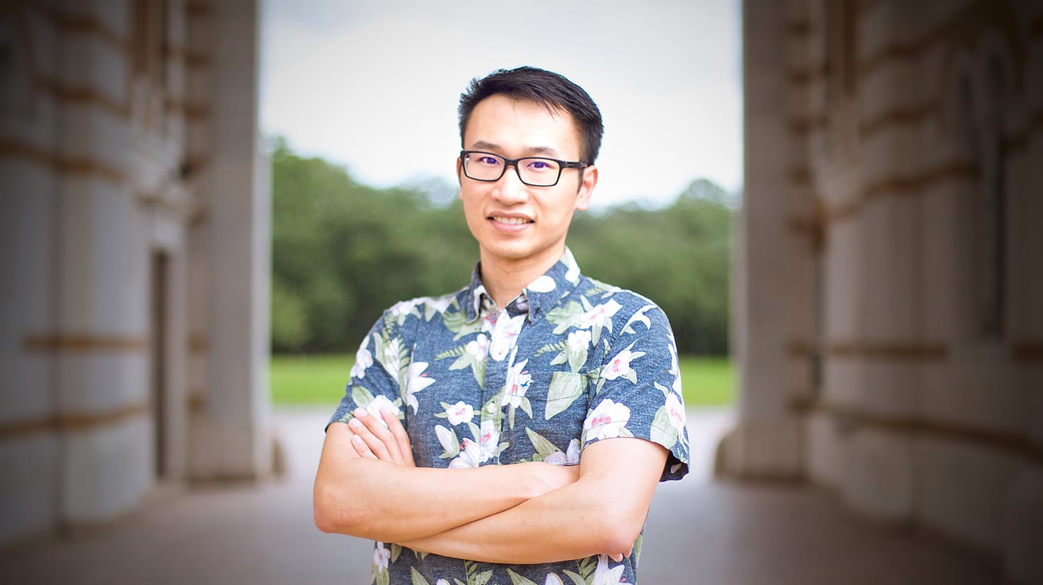 "Xiaoye ""Steven"" Sun, CS PhD student at Rice University"