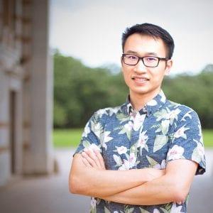 "CS PhD student Xiaoye ""Steven"" Sun."