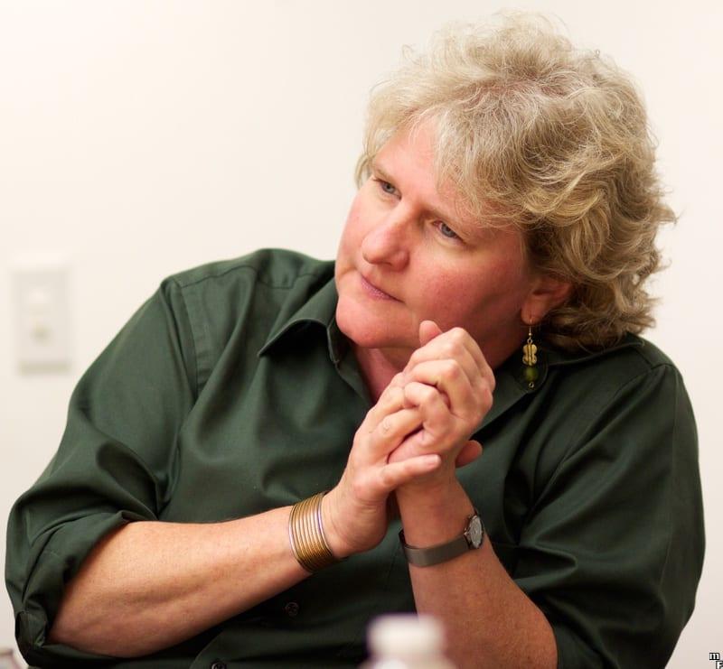 CS PhD alumna Rebecca Parsons.