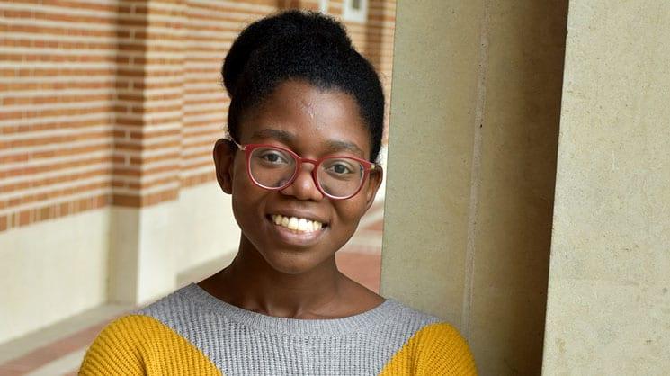 Ashley Gentles, Rice University senior.