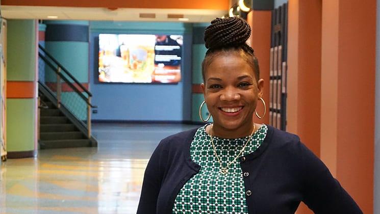 Annepha Hurlock, Rice University Computer Science Department Coordinator.