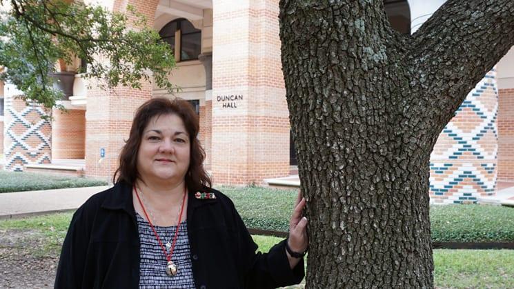 CS Sr. Department Administrator Karen Lavelle.