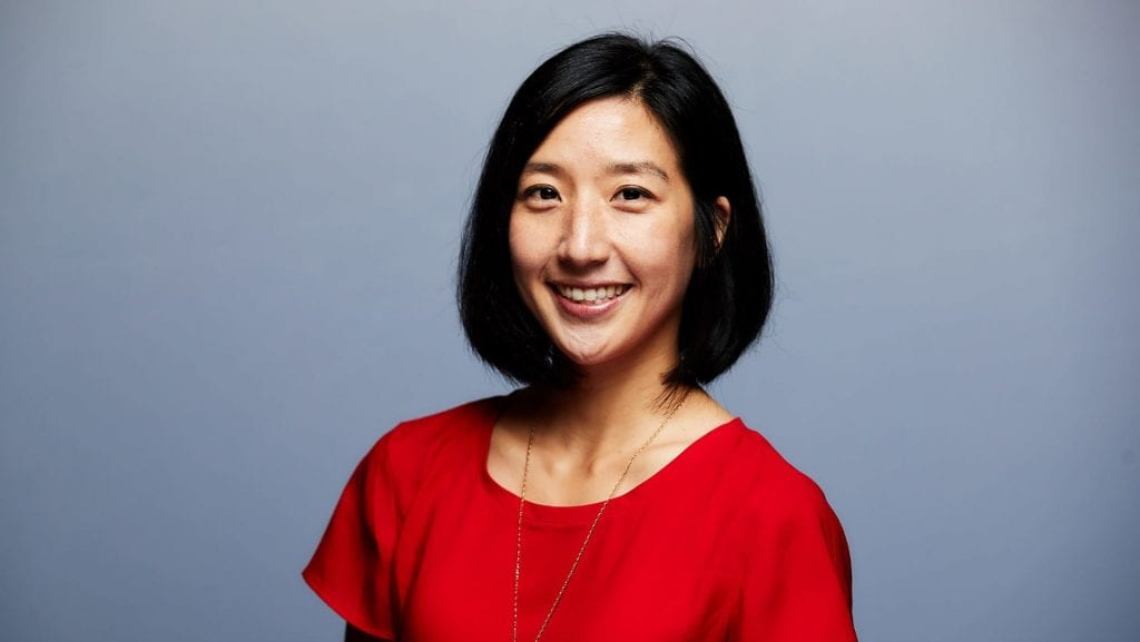 CS alumna Tina Kim is a Senior Product Manager at Comcast Silicon Valley Innovation Center.