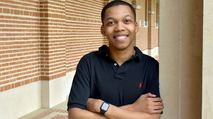 Alvin Magee, CS junior at Rice University