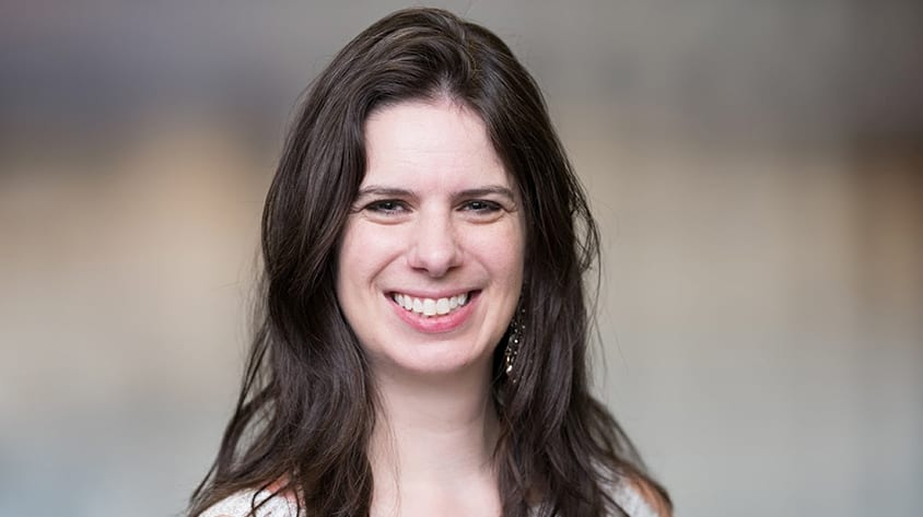 Rice CS alumna Sarah Dover Mendez