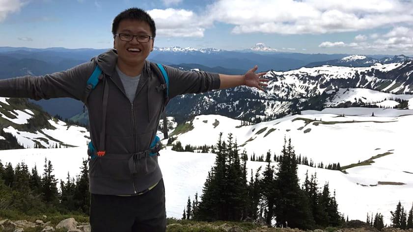 Frank Zhang, Rice CS alumnus and indie VR developer.