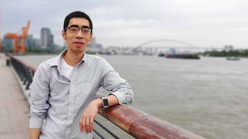 Rice Computer Science alumnus Nick Zhu is an entrepreneur in Shanghai.