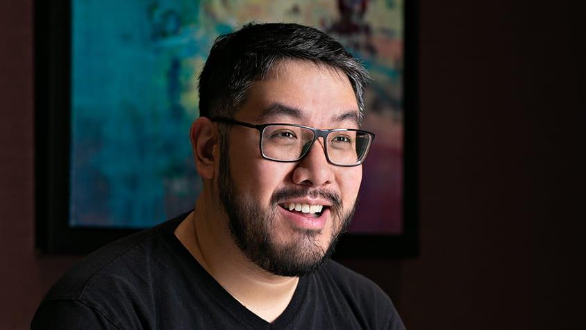 Theo Yaung, Rice CS alumnus and WhatsApp Software Engineer.