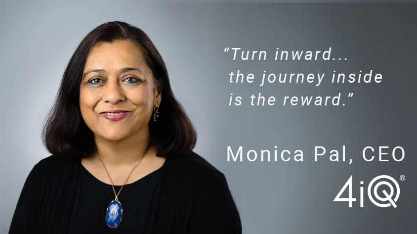 4iQ CEO Monica Trilokekar Pal is a Rice University Computer Science alumna.