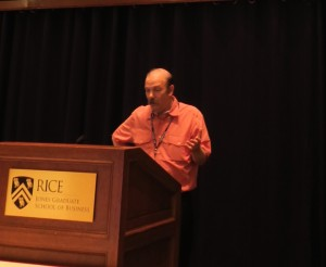 Prof. Moshe Vardi, Rie University