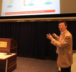 Prof. Shihong Liu, Network Technology Lab, Agricultural Information Institute of Chinese Academy of Agricultural Sciences