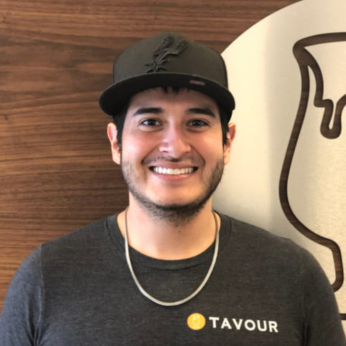 Rice CS alumnus Frank Salinas is a senior software developer for Tavour.