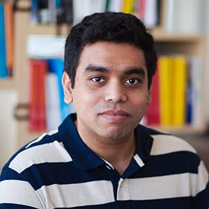 Two Sigma software engineer Shams Imam is a Rice CS alumnus.