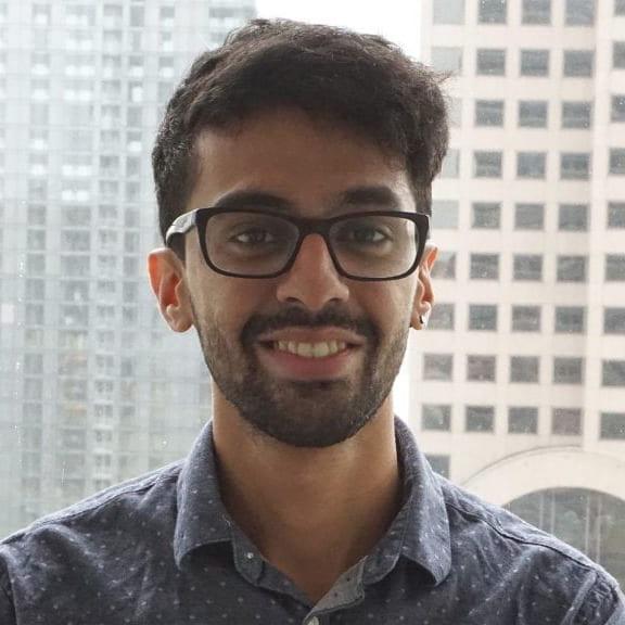 ExtraHop software engineer Karan Thakker is a Rice CS alumnus.