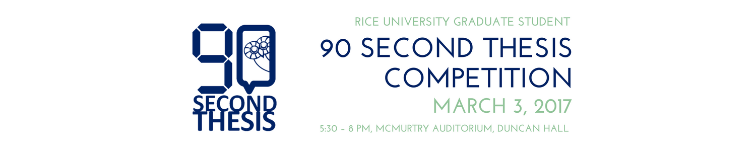 90 Second Thesis