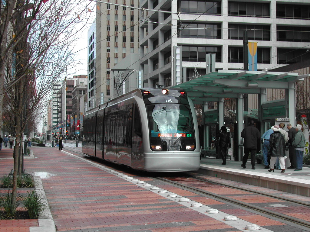 » Enter: the Light Rail Transportation Issues in Houston