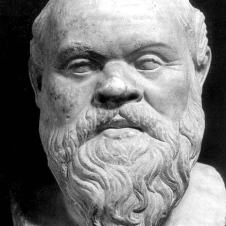 A image of Socrates