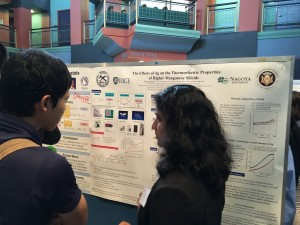 2016 U.S. Fellow Brinda Malhotra (Carnegie Mellon Univ.) presenting on the research she did in the Takeuchi Lab at the Toyota Technological Institute in Nagoya.