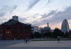 Aka-renga: Yokohama's famous red brick buildings and skyline ~ Rony Ballouz